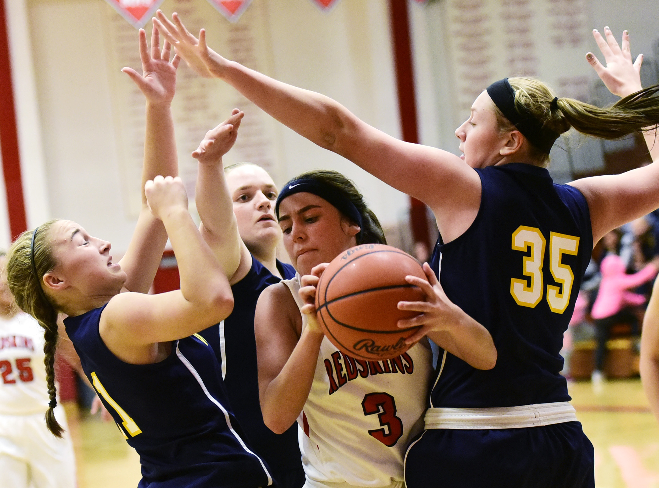 Woodmore 51, Port Clinton 22