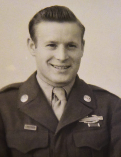 Carl Cooley, 91, of Fremont served in the U.S. Army 26th Infantry Division during World War II.