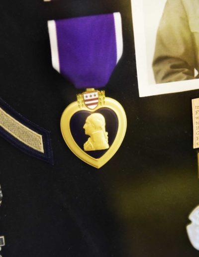 Cooley served as a rifleman and carried an M1 gun.