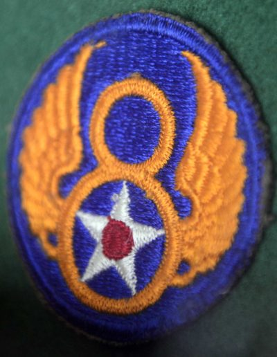Charles Holcomb's WWII 8th Air Force patch.