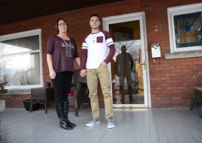 """Theresa Musser, of Fremont, left, watched her son, Colton, struggle with heroin addiction, checking every morning to see if he was still alive, she said. After years of being manipulated and lied to, she said she grew tired of her son's destructive behavior and made a stomach-wrenching choice: She kicked Colton out. It was brutally cold that night. """"It was the hardest thing I ever did,"""" she said."""