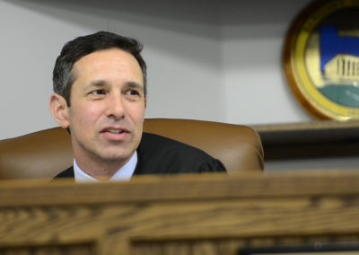 Judge John Kolesar said he started drug court in August 2014 aimed at the opiate addiction issue. In his court, Kolesar is seeing more theft cases, OVIs, driving under suspension — a lot of things the judge thinks people may not consider that serious. But his court identifies these crimes with the county's ever growing drug problem and offers offenders a way to turn their lives around, provided they can meet the drug court's stringent demands.