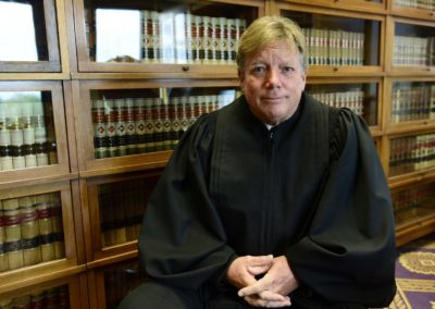 Judge Bruce Winters with the Ottawa County Common Pleas Court said about 80 percent of the cases on his Ottawa County Common Pleas Court docket are drug related, including cases involving possession, theft and burglary.