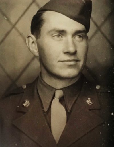 Mervin Rose (Jan. 1, 1922 – Jan. 17, 2019) was drafted into WWII, serving in the U.S. Army, 394th Signal Company Aviation from Nov. 3, 1942 – Dec. 15, 1944. He reached the rank of staff sergeant.