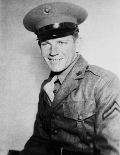 Richard Willer, 91, of Lindsey served in the U.S. Marine Corps 6th Division during World War II.