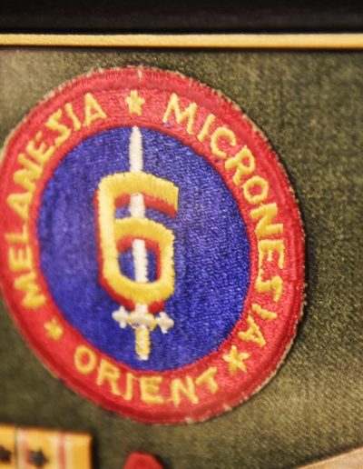 Willer served in the 6th Marine Division, a division most people don't know existed. The division was formed in Guadalcanal and disbanded in China.