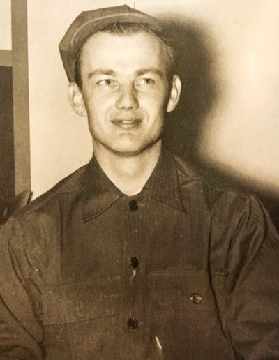 Robert Parman (May 12, 1924 – ) was drafted into WWII, serving in the 15th Army, 868th Field Artillery Battalion, 65th Infantry Division from March 2, 1943 – April 11, 1946. He reached the rank of sergeant.