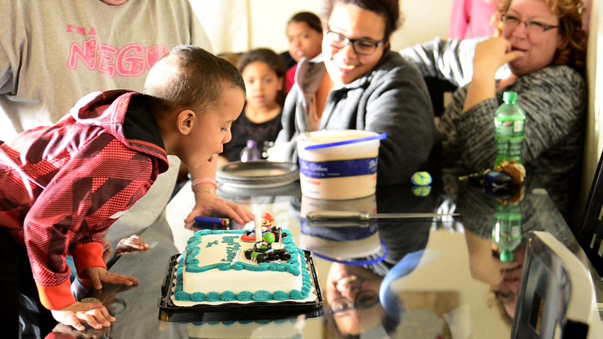 Tae's 5th birthday fighting brain cancer