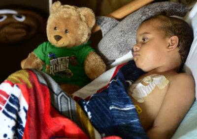 Tae rests at a hospice center in Sandusky after spending 16 months in treatments, doctor visits, clinical trials and chemotherapy sessions at different children's hospitals in Cleveland, Philadelphia and Cincinnati. He had been treated for glioblastoma, an aggressive brain cancer with a low survival rate, generally considered incurable.