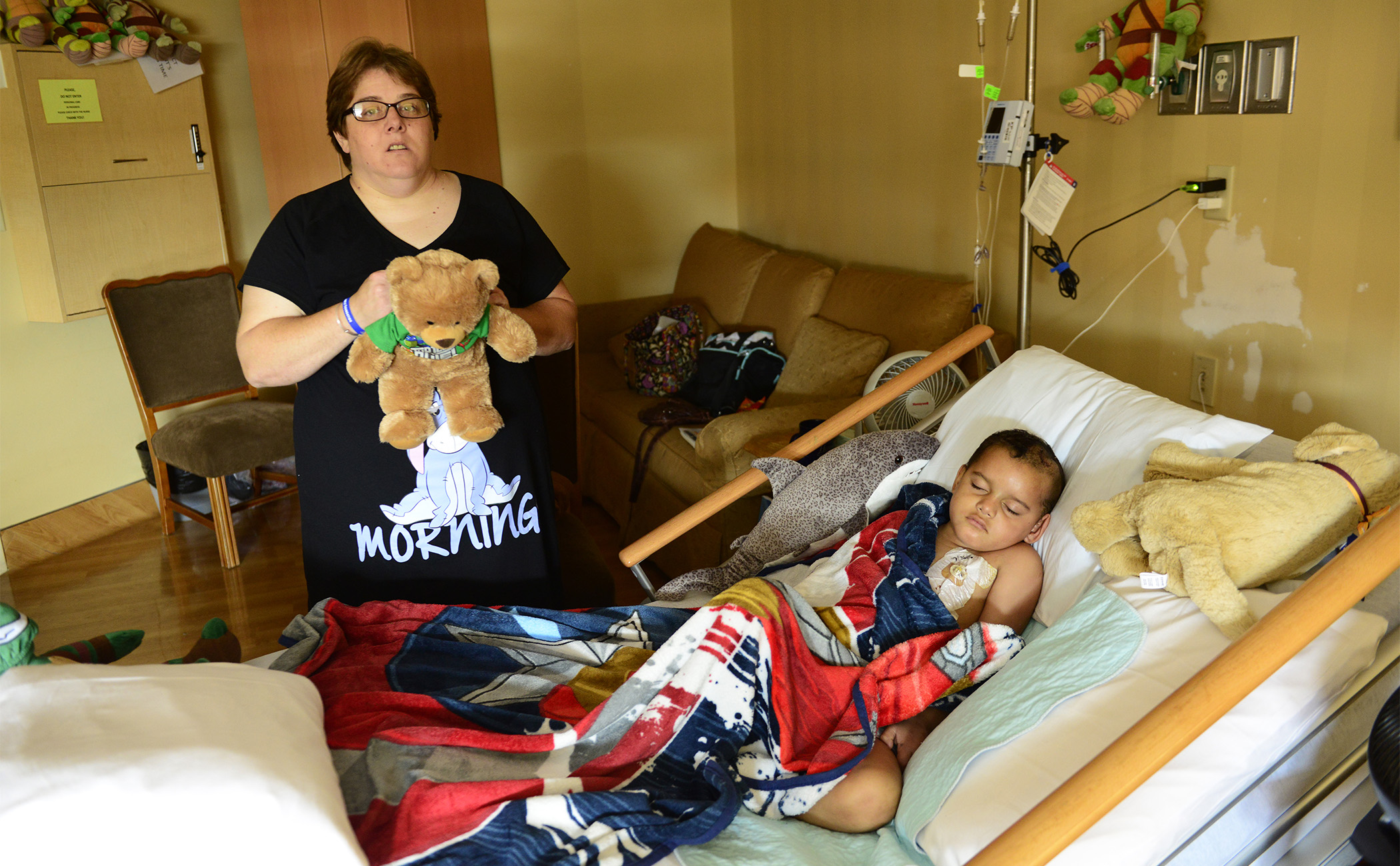 """Doctors told Tae he was going to die, and he knew that he didn't have a lot of time. """"We know the ultimate outcome. Nobody wants to face it,""""  Brandy says. Tae was four when he was diagnosed, possibly developing brain cancer at age three or younger."""