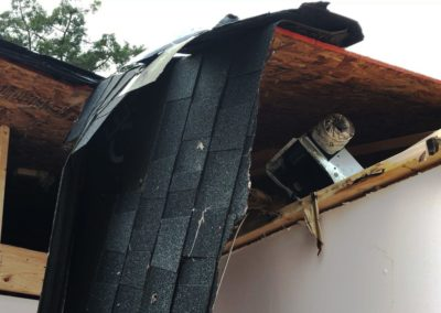 The National Weather Service determined an EF 1 tornado hit Townsend Township with winds as high as 100 miles per hour.
