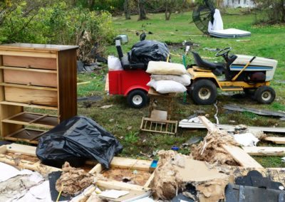 The National Weather Service determined an EF 1 tornado hit nearby Townsend Township in Sandusky County Sunday, with winds as high as 100 miles per hour.