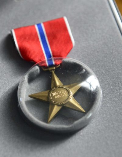 Walter Auxter was awarded The Bronze Star Medal for his service in a combat zone.